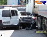 В Киеве канистра проломила 15 авто.