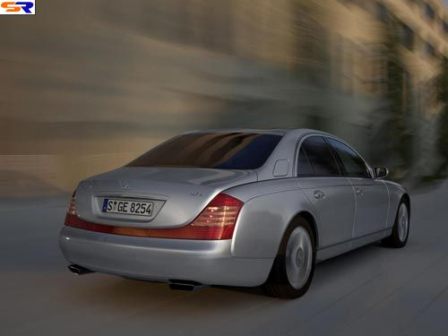 Maybach— одна изсамых дорогих машин амире! ФОТО