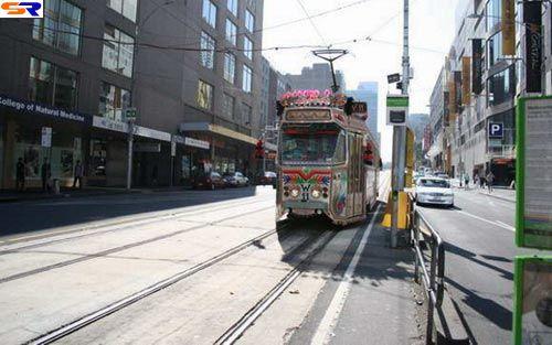 Радостный автотранспорт вМельбурне. ФОТО