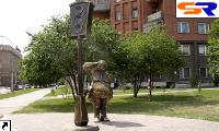 В Краснодаре был замечен монумент 1-му светофору