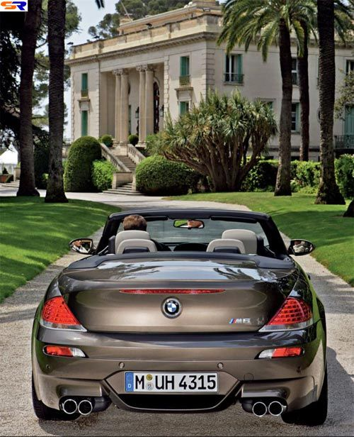 Новая BMWM6. ФОТО