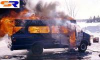 В Украине 8 человек сгорели в пассажирском автобусе
