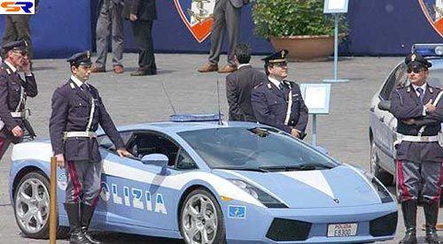 Сотрудники полиции машины могут быть итакими. ФОТО