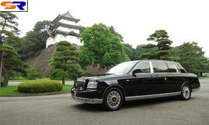 Тойота презентовала высочайшей семье свежий лимузин