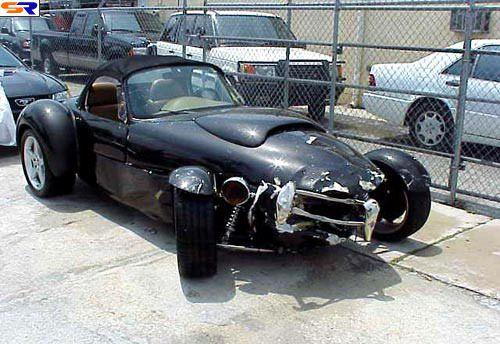 Красивые машины после катастроф. ФОТО