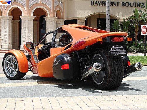Трехколесный авто илимотоцикл? ФОТО