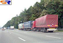 Запрет на приезд грузовых автомобилей в Киев  дал первые итоги