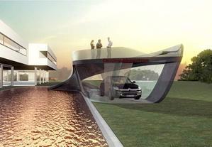 Ситроен сделал гараж-шедевр за 200 000 долларов США