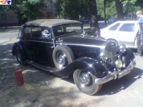 Старый Mercedes… , каку Штирлица. ФОТО