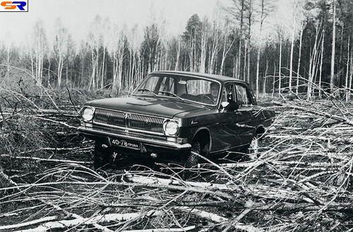 Внедорожная Волга. ФОТО
