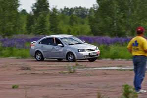 На Украине в первый раз проходит клубное авто-ралли