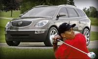 Buick Enclave'2008 представит самый состоятельный спортсмен мира