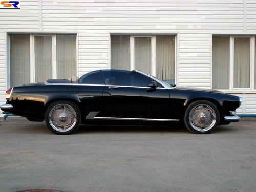 ВОЛГА набазе 6й серии BMW. ФОТО