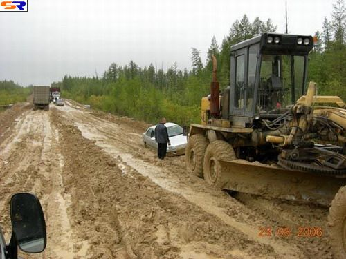 Отечественная автодорога. ФОТО