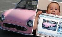 3-х летний парень приобрел авто в Сети-интернет