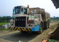 Японцы заставили 30-тонный грузовик ездить на воде