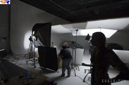 Как фотографируют Lexus. ФОТО