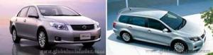 Toyota анонсировала начало продаж обновленных Axio и Fielder