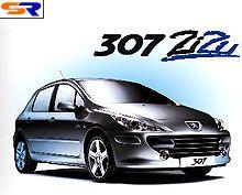 В Украине стартовали продажи эксклюзивной модификации Peugeot 307 ZiZu