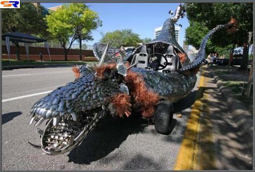 Парад необычных машин. ФОТО