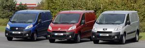 Peugeot, Citroen и Fiat обновили фургоны