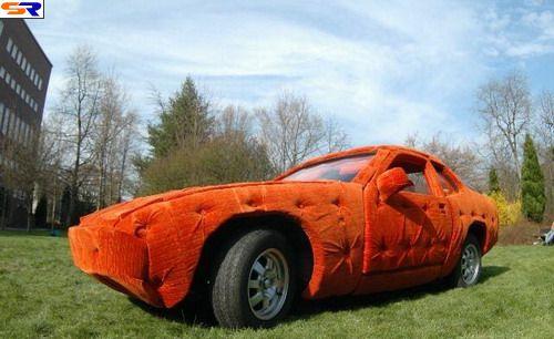 Плюшевый автомобиль. ФОТО