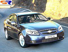 Новая комплектация Chevrolet Epica уже в Украине