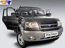 UAZ Patriot стал самым продаваемым автомобилем в классе больших внедорожников