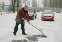 Выпавший, долгожданный снег принес первые хлопоты