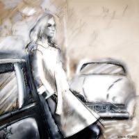 Спасать машину женщины опасно для здоровья