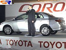На Украине начались реализации новой Тойота Королла
