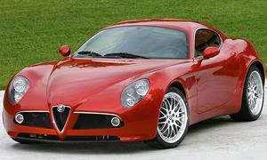 Альфа Ромео 8C Competizione представили самым прекрасным супер-каром