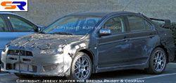 Появились новые фотографии Mitsubishi Lancer Evolution X