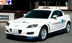 Мазда выпустит в 2008 году водородно-электрический авто