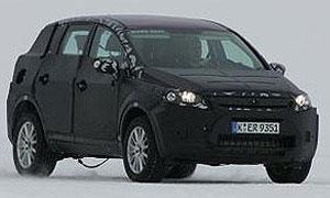 Вышли разведывательные фото макета Форд Iosis X