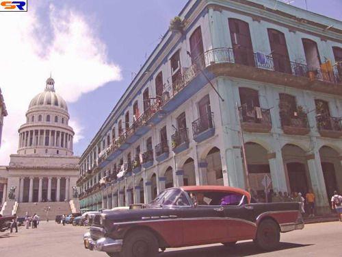 Кубинский автомобильный парк. ФОТО
