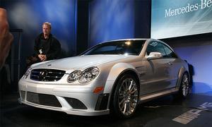 Мерседес-Бенц продемонстрировал особенную линейку White Edition AMG CLK63