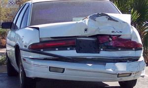 Две третьих авто небезопасны при столкновениях позади