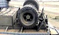 В Колумбии опрокинулся грузовой автомобиль, везший тонну кокаина