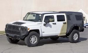Автошпионы разведали Hummer H3T