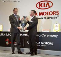 Киа стала формальным спонсором UEFA Евро 2008