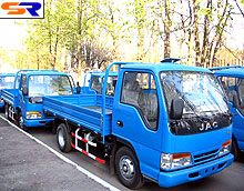 Грузовые автомобили JAC: 365 суток на Украине - JAC