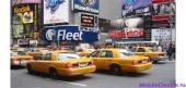Золотые такси Нью-Йорка позеленеют