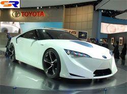 Тойота сделает 2 версии новой Супра из смешанного концепта FT-HS