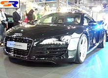 Ауди R8 объявлен супер-каром демонстрации ВААИД Kyiv Automotive Show 2007 - Ауди