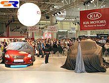 На автомобильном салоне SIA 2007 Киа cee'd обрел бонус зрительских наклонностей - Киа