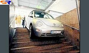 Автолюбитель спутал метро с приездом в авто гараж