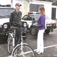 В Одессе милиционеров посадили на велики