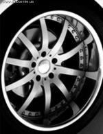 Для БМВ и Мерседес-Бенц спроектированы уникальные колесные диски