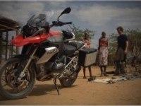 BMW R 1200 GS в Африке